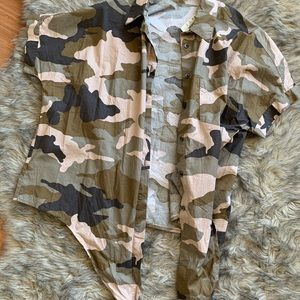 Camo Madewell button up